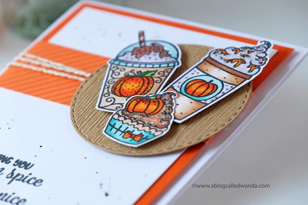 pumpkin spice latte cards