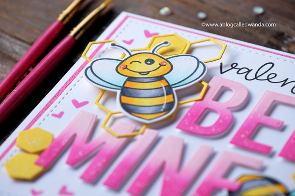 Honey Bee Build a Bee stamps