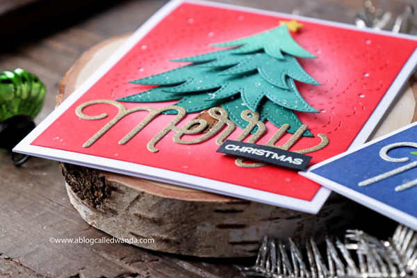 Handmade christmas card diy