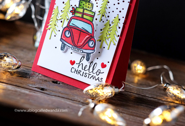 8 Fun do it yourself christmas card. stamps  dies  copics