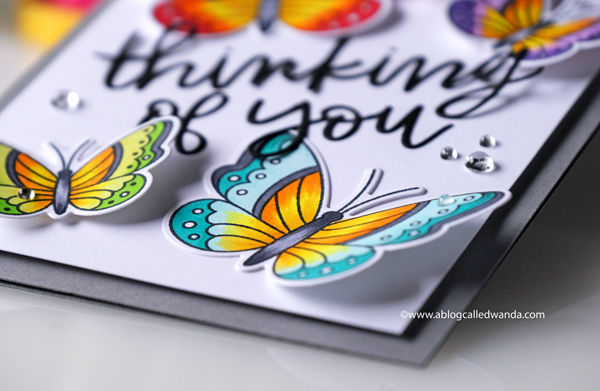 A Blog Called Wanda Butterfly card