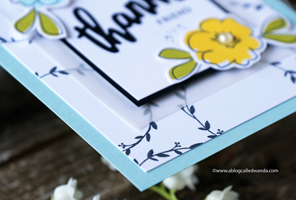 graphic clean and simple card design. handmade card. stamping and die cutting