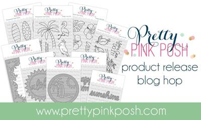 JuneBlogHop2019 Pretty Pink Posh