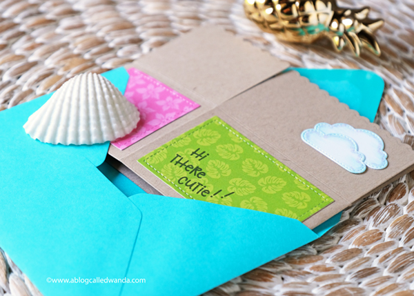 Lawn Fawn Scalloped box pop up card ideas