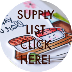 Lawn Fawn Supply List