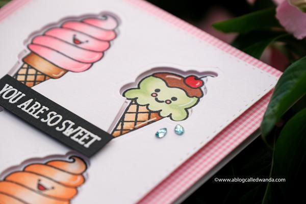 coloring ice cream with copics