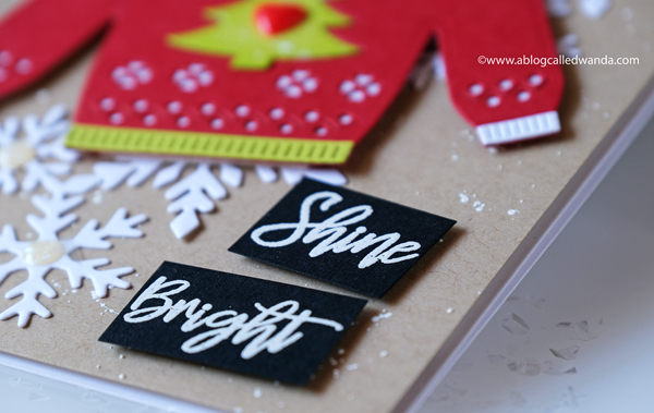 Hero Arts Christmas 2019. Sweater Die. Snowflakes dies. Christmas card ideas. wanda guess. winter blog hop