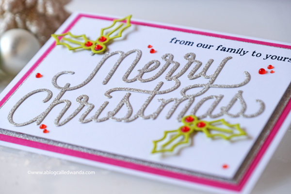 Christmas cards from Hero Arts