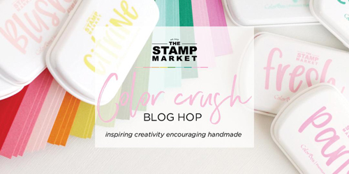 Blog hop graphic stamp market