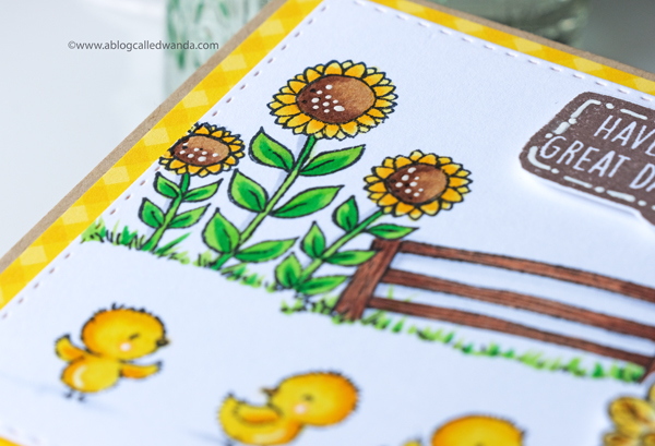 Purple Onion Designs. Stacey Yacula Sunny Meadow Fair collection. Copic Markers. Handmade cards with stamps!