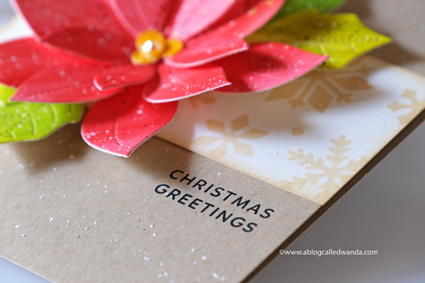 Handmade Christmas card ideas. Stamping and die cutting. Stencils and watercolors