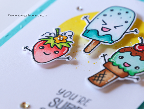 Ice cream and treats card ideas