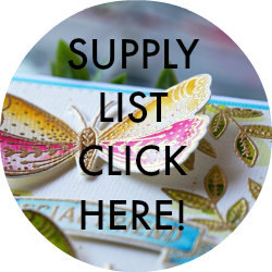 Supply List Penny Black Butterfly Garden