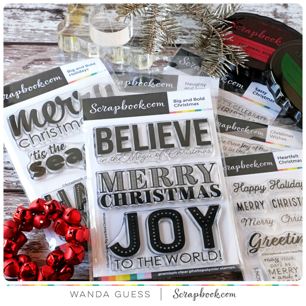 Scrapbook.com Christmas stamps giveaway