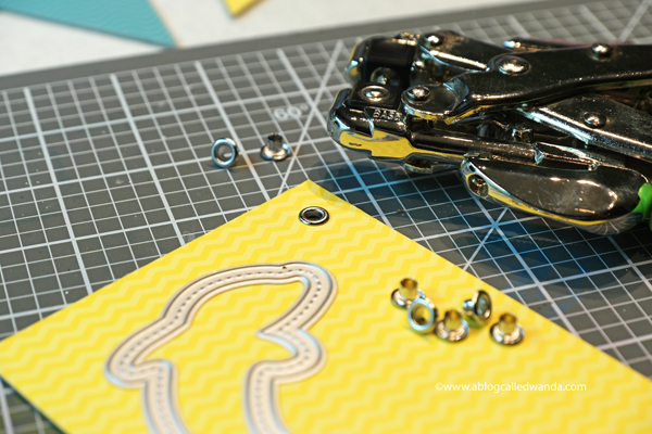 How to set eyelets crop o dile