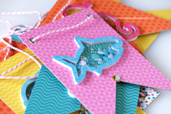 Queen and Company Under The Sea Kit Ocean Life Party Banner DIY Crafts