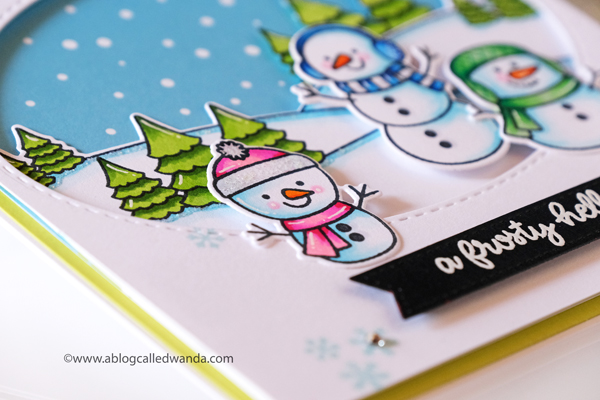 Snowman card ideas