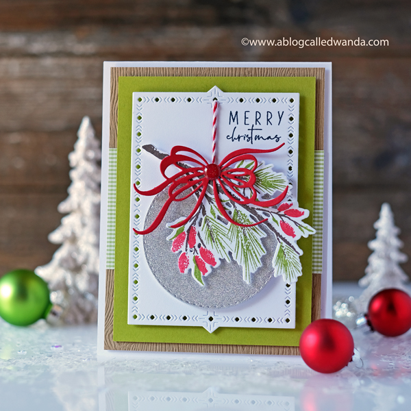 The Greetery Winter Sketches. Christmas card ideas stamping and die cutting. Wanda Guess