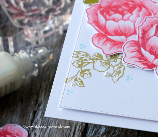 Altenew Layered Florals. Rose Blossom stamp set