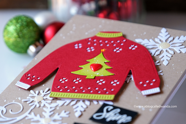 Hero Arts Christmas Sweater Die. Christmas card ideas