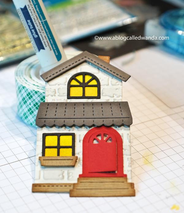 Lawn Fawn Build A House dies