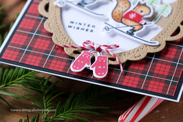 Pinkfresh Studio new release blog hop. Essentials. Winter and Christmas cards. Wanda Guess. Skiing By, Skating By stamp sets