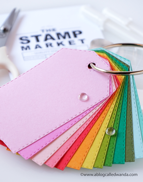 The Stamp Market Color Crush Collection. Cardstock Colors. Wanda Guess