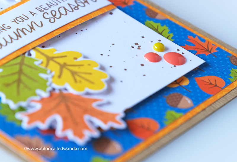 Fall card ideas with Sunny Studio Stamps