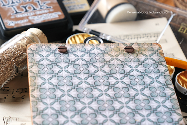 Tim Holtz wallpaper sheets
