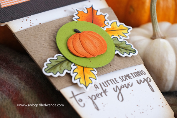 Coffee Card Ideas. Pumpkin Spice Latte