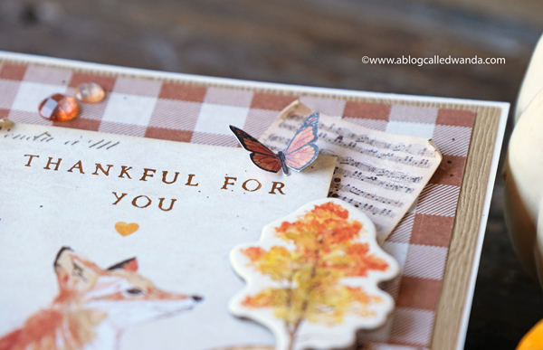 Fall card ideas. Stamping and die cutting