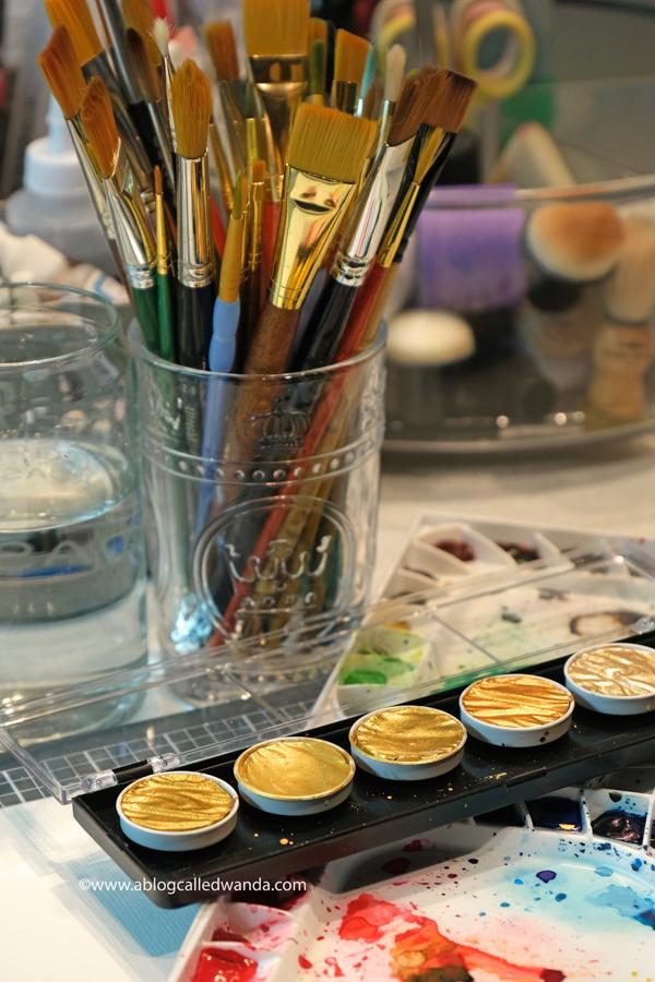 watercolor art supplies