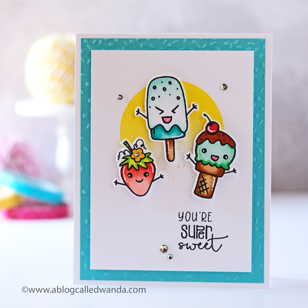 Sweet Treats card - Taylored Expressions