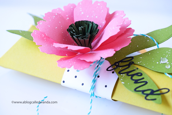 pillow box punch board. wedding favor. treat boxes. Pillow box ideas. Peony die cuts