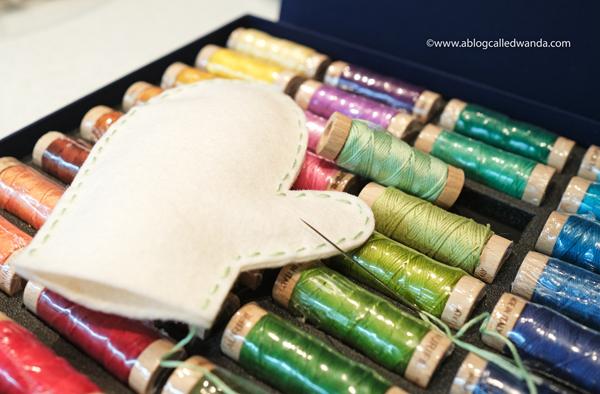 Aurifil Thread box floss