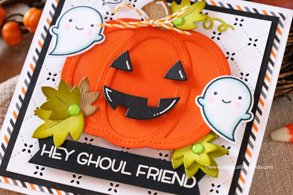 HALLOWEEN CARD IDEAS STAMPING AND DIE CUTTING