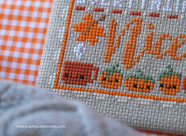Fall cross stitch projects