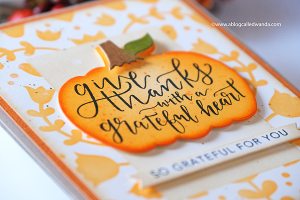 Thanksgiving and Fall card ideas by Wanda Guess