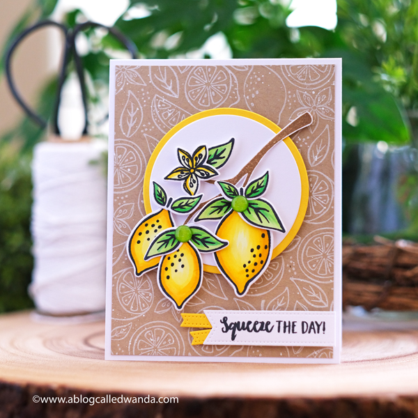 Hero Arts 2020 Catalog Blog Hop. Zest Wishes, Plants, spring. Card ideas with Hero Arts from A Blog Called Wanda