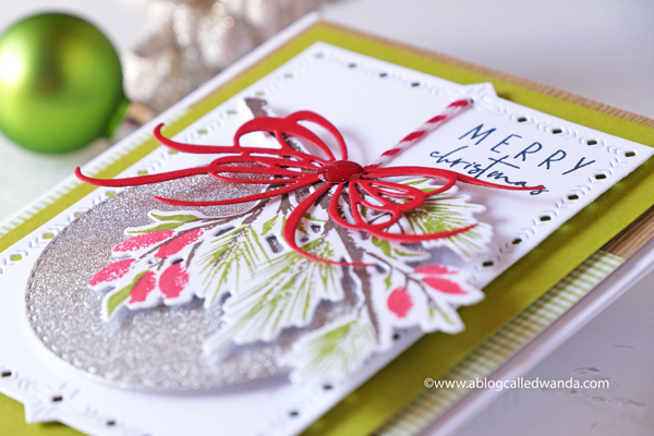 handmade christmas card ideas with stamping and die cutting