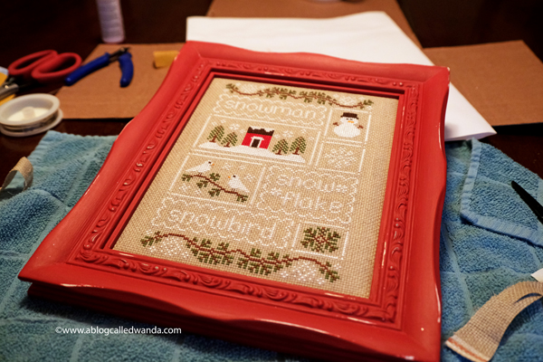 do it yourself finish cross stitching projects