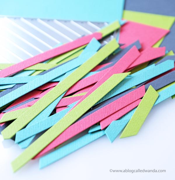 diagonal stripes dies
