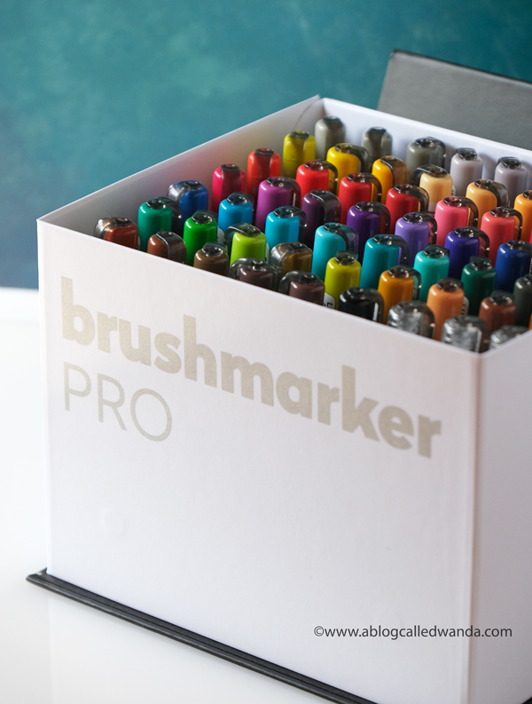 Karin Brush Markers set. Reviews and how to use.