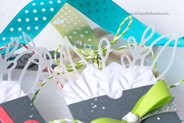 Pinkfresh Studio Leafy Envelope die