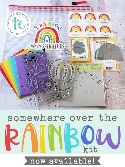 Taylored Expressions Rainbow Card Kit!