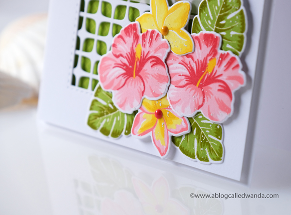 Hibiscus and Plumeria stamps and dies