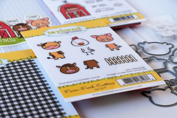 Taylored Expressions Farm Fresh Card Kit!