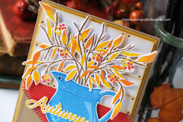 The Greetery new release fall 2020. Gathered Blessings release. Bittersweet Bouquet stamp set. Pitcheresque stamp set, coaster die, fall card ideas, The Greetery Design Team, Wanda Guess