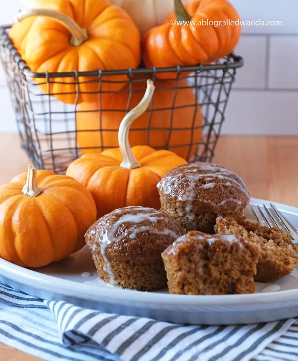Pumpkin Muffins recipe from All Recipes