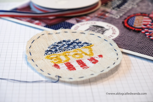 cross stitching, cross stitch, summer house stitche workes, stitched modern, sister suffragette pattern, voting pin, vote cross stitch, handmade pin, rock the vote, easy cross stitch, wanda guess